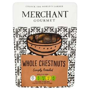Merchant Gourmet Whole Chestnuts 180G for £1.20 @ Tesco