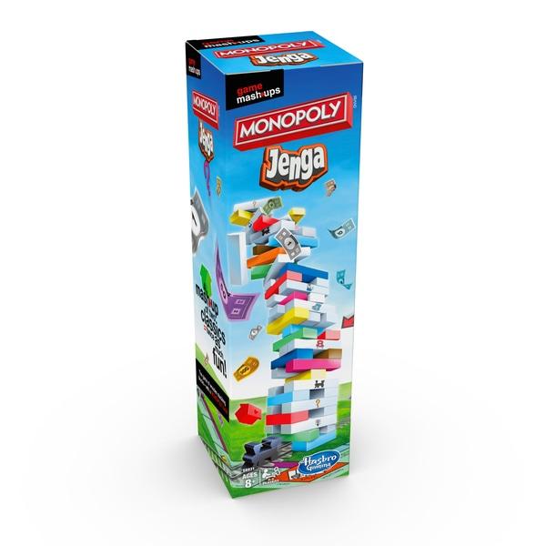 Mashups: Monopoly & Jenga Board Game £12.99 @ Smyths Toys