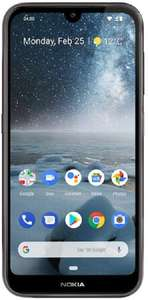 "(Cheaper at CarPhone Warehouse, but for if they run out!) Nokia 4.2 5.71""-Inch Android Pie UK Sim-Free Phone. 3GB RAM, 32GB Storage - £99"