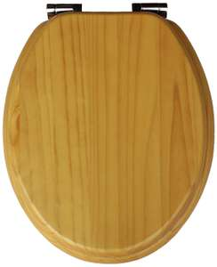 Solid Wood Slow Close Toilet Seat - now £22.50 (free Click & Collect) @ Argos