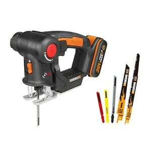 WORX WX550.2 18V (20V MAX) AXIS Multi-Purpose Cordless Saw, now £64.99 delivered from WORX / eBay 3 yr warranty