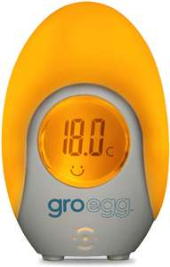 The Gro Company Groegg Colour Changing Room Thermometer £11.70 (Prime) £16.29 (Non Prime) @ Amazon