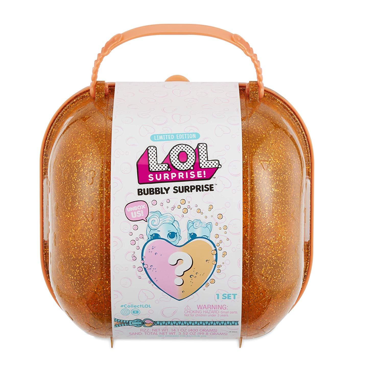 L.O.L. Surprise! Bubbly Surprise, in Orange or Pink - £19.99 Prime / +£4.49 non Prime @ Amazon