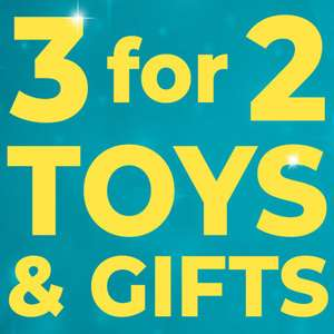 3 for 2 on toys and gifts including reduced Harry Potter items @ Studio - £4.99 delivery