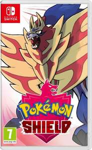 Pokemon Shield + Steelbook + Tracksuit Digital DLC - £42.85 @ ShopTo