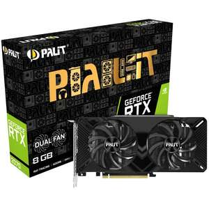 GEFORCE RTX 2070 DUAL 8192MB PCI-EXPRESS GRAPHICS CARD £384.89 Delivered from Overclockers UK