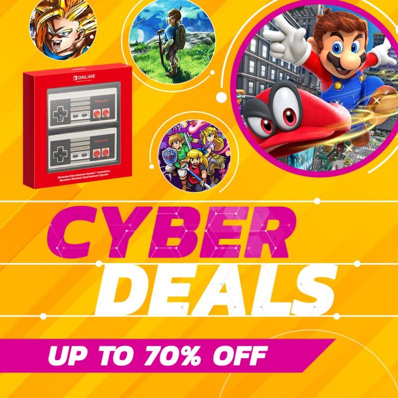 Nintendo Switch eShop Cyber Sale (Cadence of Hyrule £15.74, Elder Scrolls Skyrim £24.99, Monster Hunter £22.49, Octopath, Ni No Kuni)