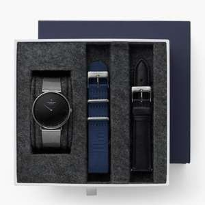 30% off Watches with code Including Gift Sets with up to 20% Off + Free Delivery @ Nordgreen eg; Native Bundle Black Dial Gun Metal £116.20