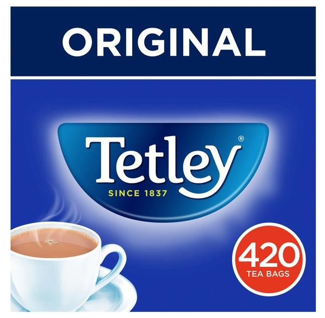 Tetley Tea Bags 420s £5 @ Morrisons