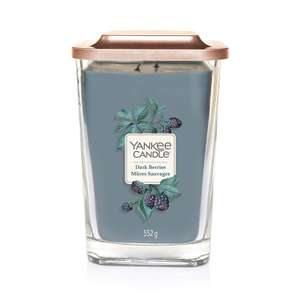 Yankee Candle Elevation Collection with Platform Lid Dark Berries – £12.99 (Prime) £17.48 (Non Prime) @ Amazon