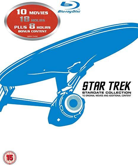 Star Trek: Stardate Collection - Movies 1-10 [1979] [Region Free] Blu-ray on Amazon for £16.39 Prime / +£2.99 non Prime