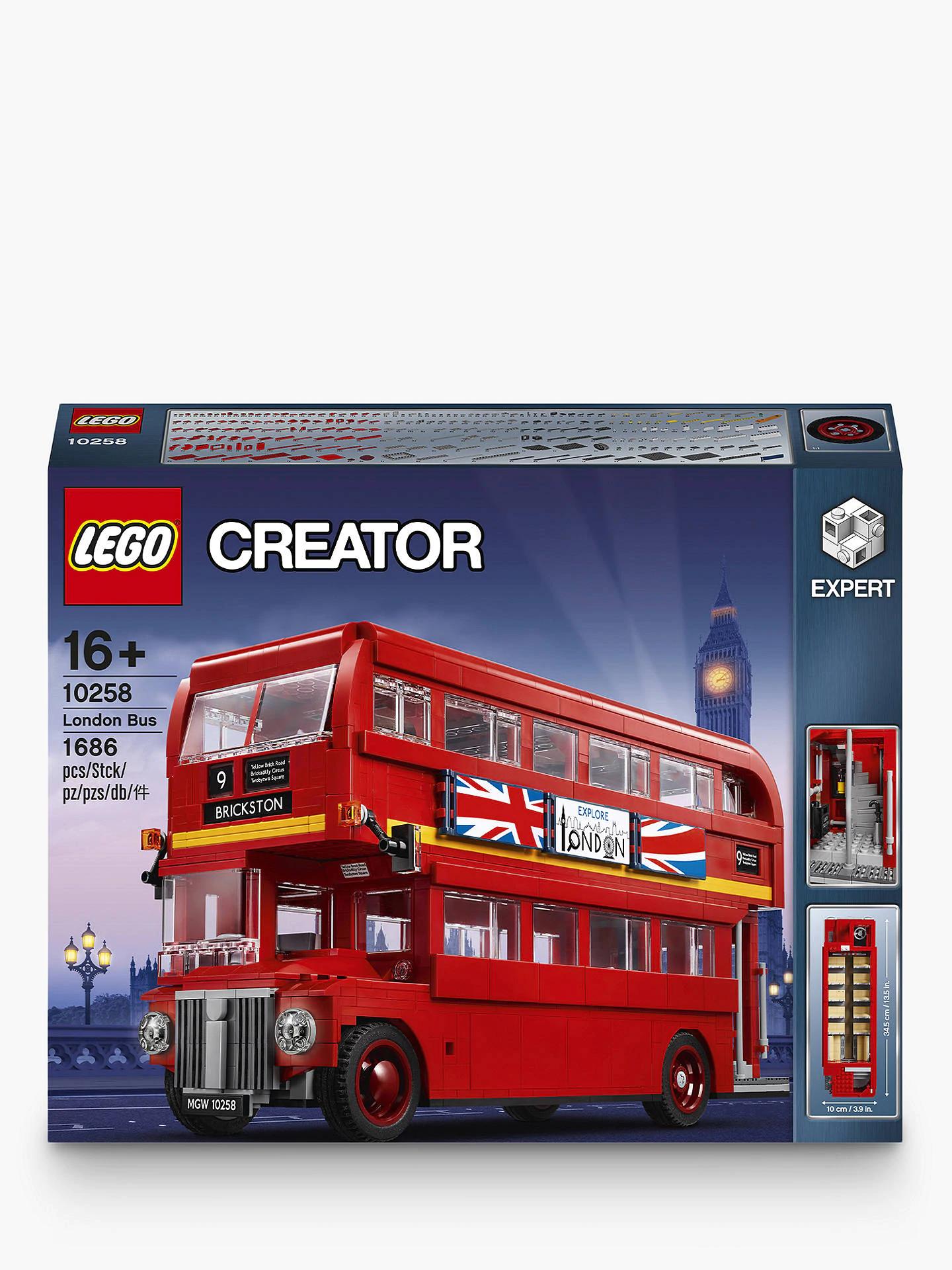 LEGO Creator 10258 London Bus £94.95 Price Match / Click & Collect @ John Lewis & partners