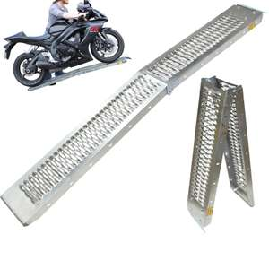 Black Pro Range B5249 Folding Steel Motorcycle Ramp - £27.52 with code @ Ghostbikes