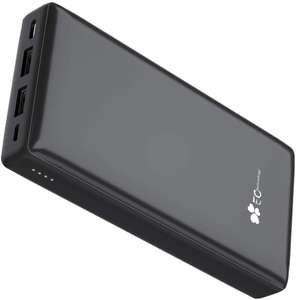 EC Technology Portable Phone Charger 26800mAh Power Bank £15.99 with voucher Sold by EC Technology Store and Fulfilled by Amazon
