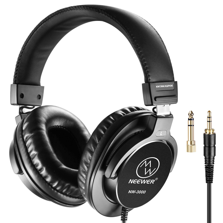 Neewer NW-3000 Studio Monitor Headphones - £14.70 delivered @ Amazon / Nashes Camspace