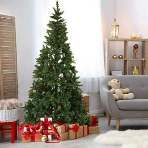 7ft 7 Pre- Lit Artificial Christmas Tree £53.68 / 6ft 6 Tree + Berry & Pinecone Decoration £23.76 Using Code + Free Delivery @ Packed Direct