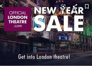 Annual official london theatre sale tickets from £10