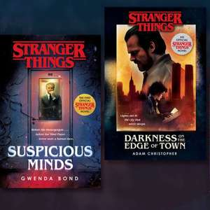 Stranger Things hardback novels - £6 each at The Works - free Click & Collect