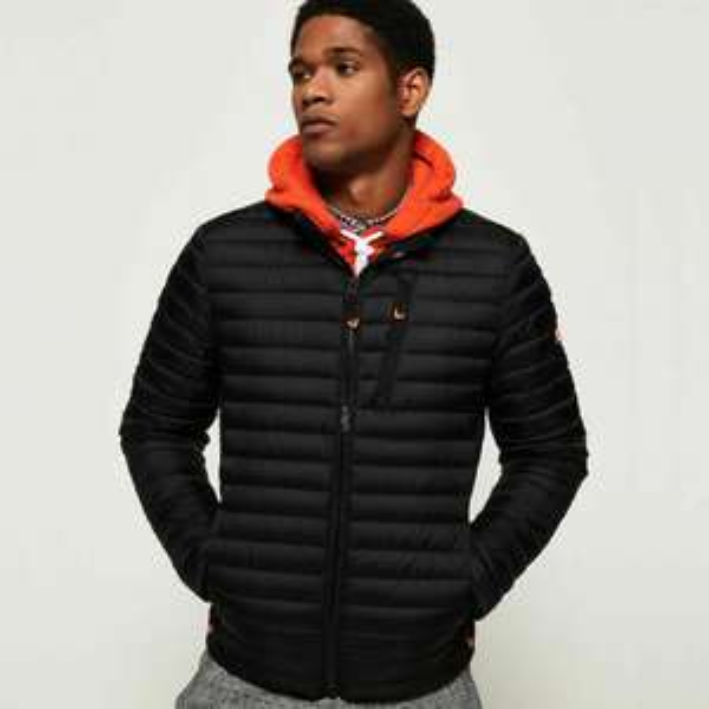 Superdry Core Down Jacket (Black) - £63.99 @ Superdry eBay