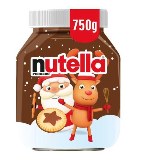 750g Nutella jar £3.50 @ Co-Op