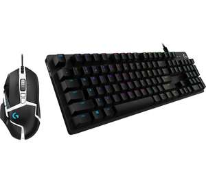 LOGITECH G Play Advanced Gaming Keyboard & Mouse Set £100 @ Currys