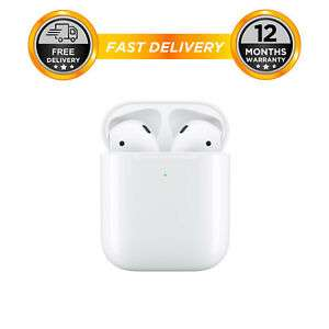Apple AirPods with Wired Charging Case 2nd Gen - White 119.96 @ ebay hitechelectronicsuk