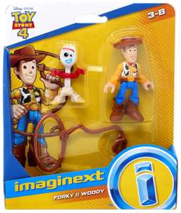 Imaginext Toy Story 4 mini figures £6.50 Sainsbury's instore