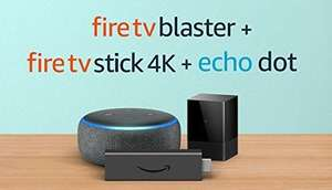 Fire TV Blaster bundle with Fire TV Stick 4K and Echo Dot (3rd generation) £86.89 @ Amazon
