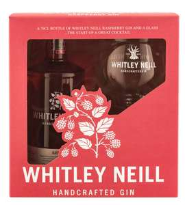 Whitley neill raspberry gin and glass set £12 @ Debenahms Free click and collect