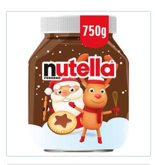 750g Nutella £3.20 instore @ Asda