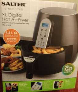 Salter XL Digital Air Fryer 4.5L for £40 @Asda instore
