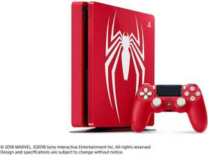 Limited Edition Amazing Red Marvel's Spider-Man 1TB PS4 Console (Seller Refurb) - £151.99 - eBay/StockMustGo