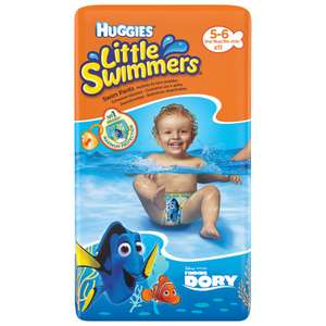 Huggies Little Swimmers size 5-6 11 pack reduced to £1.49 in-Store at Aldi