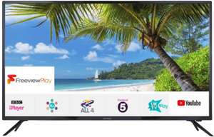 """Linsar 55UHD8000FP 55"""" 4K Ultra HD Smart LED TV with Freeview Play Free 5 Year Guarantee £279.99 @ Ebuyer"""