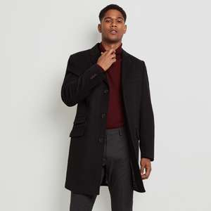 £50 Off All Coats + Free Click & Collect + Free Extended Returns @ Moss Bros