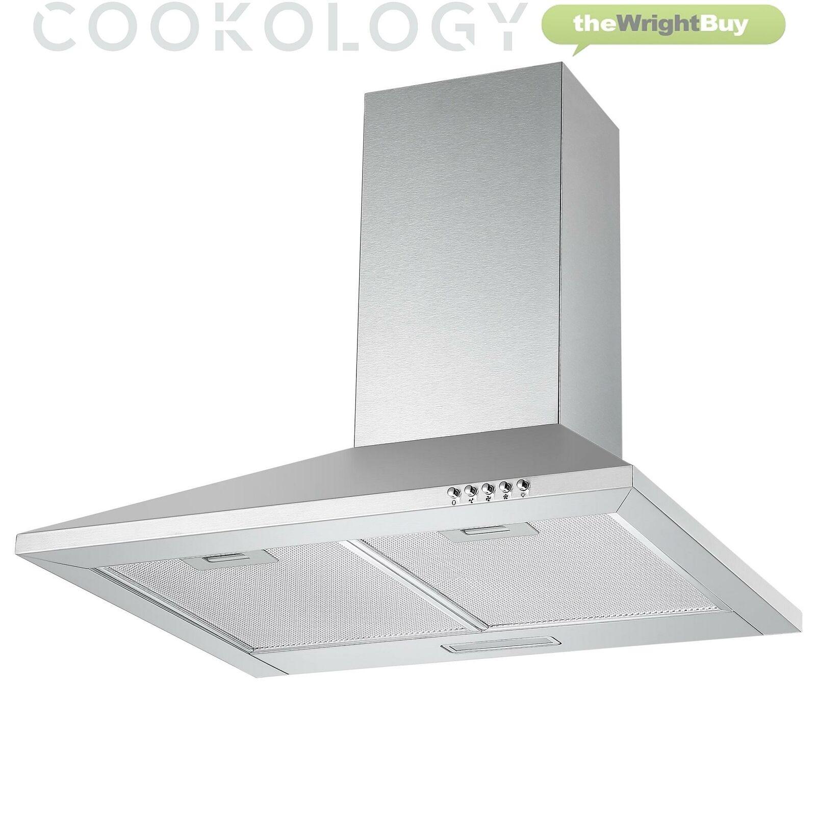 Cookology CH600SS Extractor Fan 60cm Cooker Hood £41.59 Using Code @ thewrightbuyltd / eBay