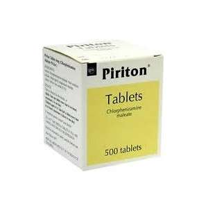Piriton Chlorphenamine Allergy Tablets 4mg 500 Tablets - Free Delivery £12.99 @ Pharmacy First