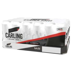 Carling 24 x 440ml cans £12 @ Morrisons
