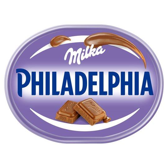 Philadelphia Milka Soft Cheese 150g - 95p instore @ Asda (National)