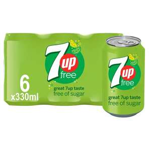 7-Up Light Lemon & Lime 6X330ml Pack £1.59 @ Tesco