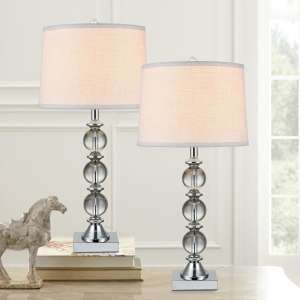 Pack of 2 Crystal Table Lamps - £42.99 @ Costco