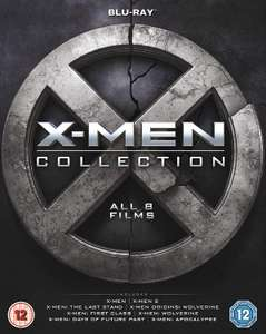 X-Men 8 film collection (Blu-ray) £9.59 (+£2.99 Non Prime) @ Amazon
