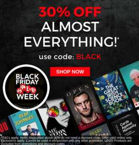 Books Books Books! 30% with Code free delivery to UK @ Easons