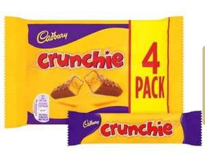 Cadburys Crunchie 4 x 26.1g Bars - 82p @ Amazon - Add On Item