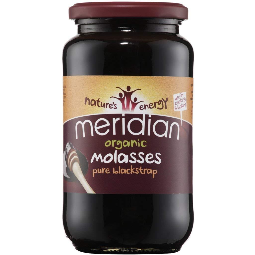 Meridian Organic Blackstrap Molasses, 6 X 740G - £8.36 (+4.49 non prime) - @ Amazon