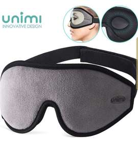 Grey Sleep Mask for Women & Men, Unimi Upgraded 3D Contoured £2.75 - Sold by ZHXTEK / Fulfilled by Amazon (+£4.49 non-Prime)
