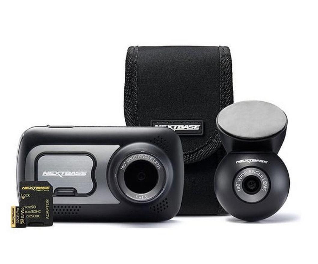 Nextbase 522GW Dash Cam with Rear Camera, 32GB Memory - £149.99 @ Very