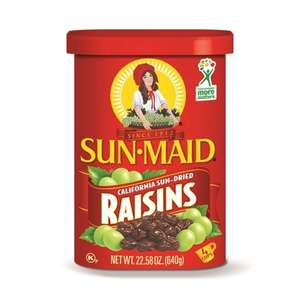 Sun Maid Raisins 400G - £2.10 @ Tesco
