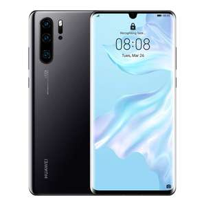 Huawei P30 Pro 128GB 6GB RAM Dual SIM (Unlocked for all UK networks) - Black £490 @ WowCamera