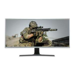 "electriQ 35"" WQHD 100Hz HDR FreeSync Curved UltraWide Gaming Monitor £309.97 @ Laptops Direct"